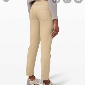 Lululemon 5 pocket pants